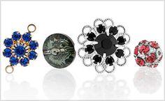 Shop Swarovski Elements Crystal Components at FusionBeads.com!