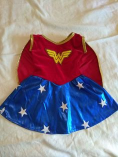 Toddler Baby Girl Wonder Woman Costume by BerryWildBunnies on Etsy