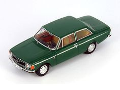 Premium X 1:43 Volvo 142 Diecast Model Car PRD292 This Volvo 142 (1973) Diecast Model Car is Green and has working wheels and also comes in a display case. It is made by Premium X and is 1:43 scale (approx. 9cm / 3.5in long).    More commonly seen as a 4 door, this model depicts the rare 2 door version beautifully finished in green.  #PremiumX #ModelCar #Volvo Volvo Models, Diecast Model Cars, Display Case, Scale Models, Vintage Toys, The Past, Wheels, Vehicles, Illustration
