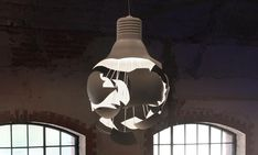 Scheisse Lamp by Hans Bleken Rud #Lighting #Lampb #LIght_Bulb #Broken_Light_Bulb #Hans_Bleken_Rud