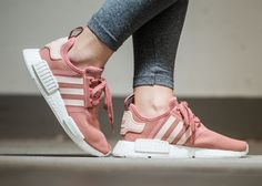 Adidas NMD R1 Boost Mesh W 'Raw Pink  Talc' Im crying for this cutie