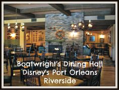 One of the many great things about staying at Disney's Port Orleans Riverside resort is the boat to Disney Springs where you will find dozens of dining options. But you don't have to leave the resort to find one of the hidden gems of Disney dining – Boatwright's Dining Hall. While most Disney restaurants require …