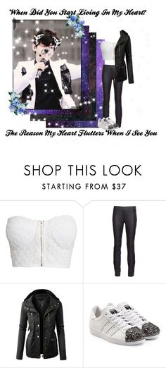 """""""~Until You Remember I Will Wait For You~"""" by stevtasha-romanodgers ❤ liked on Polyvore featuring NLY Trend, Valentino, LE3NO and adidas Originals"""
