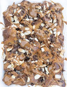 Chocolate Chunk Bread Pudding is the perfect decadent dessert for any special occasion. Or if you're just looking for a good cheat meal! Just Desserts, Delicious Desserts, Dessert Recipes, Semi Sweet Chocolate Chips, Melting Chocolate, Denim Blog, Bottomless Brunch, Stale Bread, Bread Puddings