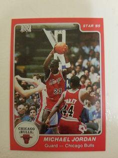 aaab2e84017 Michael Jordan 1985 Star #101. Authentic? Reprint? #MichaelJordan  #SportsCards #