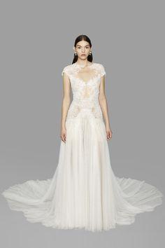 Marchesa Bridal Week Fall 2017 - http://www.stylemepretty.com/2016/10/12/marchesa-bridal-week-fall-2017-wedding-dresses/