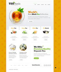 Design eats time... Get Template Espresso! That's Joomla #template // Regular price: $75 // Unique price: $4500 // Sources available: .PSD, .PHP #Joomla #Responsive #Food #Drink #Tea