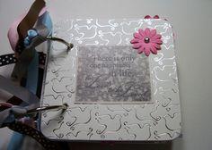 Wedding Mini Scrapbook Album Wedding Mini Album by HampshireRose, $28.00