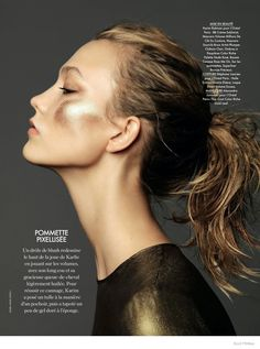 Karlie Kloss by Nico for Elle France December 2014 beauty treatments Karlie Kloss, Beauty Makeup, Hair Makeup, Hair Beauty, Mode Inspiration, Makeup Inspiration, Beauty Editorial, Editorial Fashion, Makeup Editorial