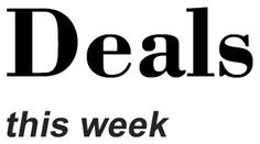Deals this week 21 Feb 2015 Startup News, Company Logo, Math, Math Resources, Early Math, Mathematics