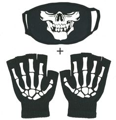 stylish14 Fingerless Skeleton Gloves and Mouth Mask Glow in Dark Unisex Hand War… #mouthmask #dark #Fingerless #gloves #Glow #Hand #mask #Mouth #mouthmaskdark #Skeleton #stylish14 #Unisex #WAR