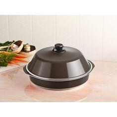 Bessemer Cast Aluminium Oven Baking Pan w/ Lid 34cm | Buy Bakeware