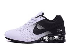 NIKE SHOX DELIVER BLACK WHITE 2016 NEW Lastest NFDyiw 1530620a52