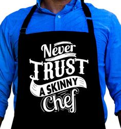 Wxf Womens Dont Trust Skinny Chefs Classic Walk Black Fleece