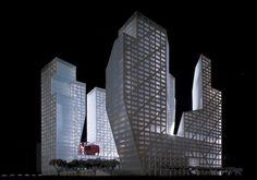 Sliced Porosity Block / Steven Holl Architects