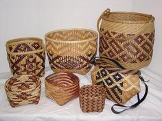 amazing Cherokee baskets