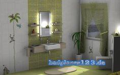 Das Badezimmer im grünen