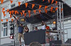 Breda, KONINGSDAG 2014 op de Grote Markt.