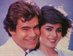 """Guillermo Capetillo y Victoria Ruffo en """"La Fiera""""- 1983"""