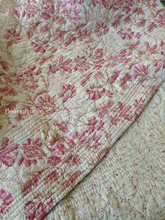 FleaingFrance.....antique French quilt