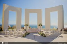 The day of your #Wedding is the most special one and at #GrandVelas will have the best wedding celebration. #RivieraNayarit #Aisle #Love  #Decor