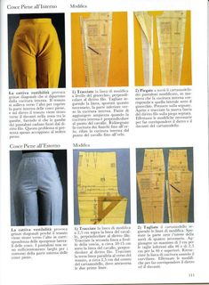 pantalón recto alto cintura - craftIdea.org Trouser Pants, Skirt Pants, Khaki Pants, Altering Pants, Pattern Trousers, Sewing Techniques, Sewing Pants, Sewing Clothes, Sewing Tutorials