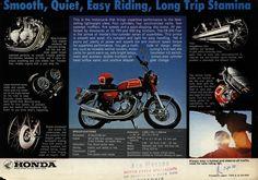 Honda CB350F Retro specs ad