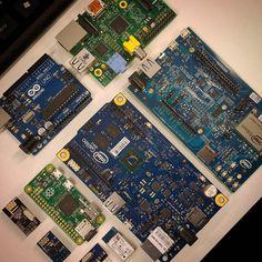 #iot #internetofthings #intel #edison #inteledison #galileo #intelgalileo #raspberrypi #raspberrypi2 #raspberrypizero #arduino #arduinouno #esp8266 #nrf24l01 #rn42 #wifi #bluetooth #linux #raspbian #yocto by anzanpour