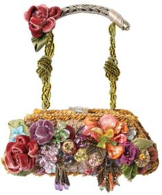 Mary Frances Handbag - I already have one of her guitar bags - but I would love to add this one to my collection! Vintage Purses, Vintage Bags, Vintage Handbags, Mary Frances Purses, Mary Frances Handbags, Beaded Purses, Beaded Bags, Unique Purses, Womens Purses