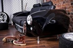 Hot Rod Couch ... for the man cave ....