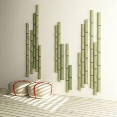 BAMBOO - Panneaux acoustiques phono-absorbant - Design Stones Design  - MADE DESIGN