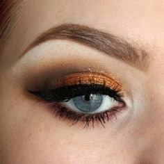 HOW TO: Fall Look Using Stila's Foil Eyeshadows