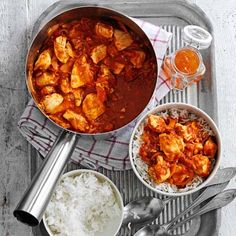 Try our version of #ChickenBhuna. It tastes as great as the original, but even better, it's low in fat! Recipe in the August issue of BBC Good Food India.