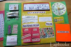 Lapbook Matematicas 1