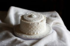 Serendipity: torta cammeo a punto smocking