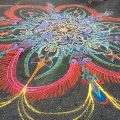 The wind has spoken. It's done    Follow me on Facebook http://www.facebook.com/joe.mangrum.art Ⓒ 1994-2014 Joe Mangrum http://www.joemangrum.com Paintings – Sand Paintings – Prints – Installations – Events – Commissions