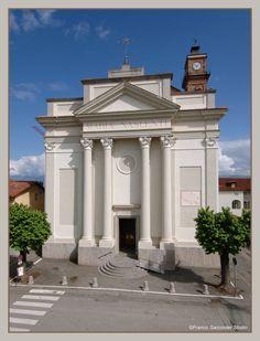 ...Ozegna (To) la chiesa parrocchiale. #Ozegna #canavese #piemonte #neoclassico