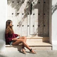 espadrille oncinha look street style