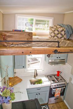 393 best Tiny house kitchens images on Pinterest | Home kitchens ...