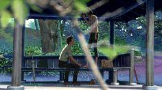言葉之庭 - ことのはのにわ(2013)Japan__My Rating:7.6/10__Director:新海誠__Stars(Voices):入野自由、花澤香菜、平野文、前田剛