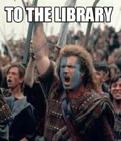 Meme Creator - To the Library Meme Generator at MemeCreator.org!