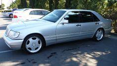 Mercedes-Benz Silver on AMG rims Mercedes W140, Mercedes Cls, Cls 63 Amg, West Coast Customs, Merc Benz, Pagani Zonda, Classic Mercedes, Custom Wheels, Maybach