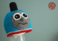 Thomas the Tank Train Engine  #crochet #baby