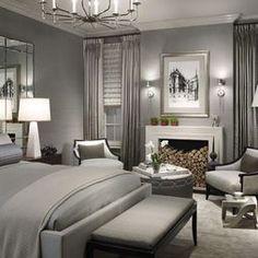 Grey on Grey Bedroom