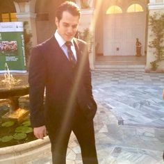 My darling Cavill is it possible to have a hot flash just by looking at you...cuz my body temperature rises whenever I look at you...lol!! ;)