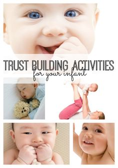 Trust Building Activities for Your Infant  #parenting #baby