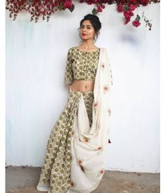 Chidiyaa provides authentic Indian handcrafted women's clothing in traditional block prints and weaves. Traditional Sarees, Traditional Outfits, Saree Poses, Block Print Saree, Ikkat Saree, Lehenga, Anarkali, Pakistani Outfits, Printed Sarees