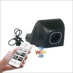 For Ford kuga Car Wifi DVR DashCam Novatek 96655 Dual lens wide angle Car Black Box hidden installation Night vision