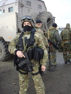 Russian Spetsnaz in their new multicam pattern.