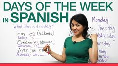 In 4 minutes you will learn how to say the days of the week in Spanish. I will teach you basic, EASY sentences to use in conversation. Subscribe to my channe...